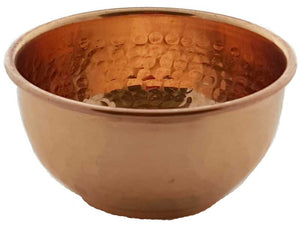 "3"" Copper Offering Bowl"