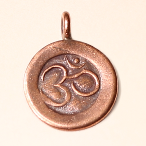 Om Hill Tribe Copper Pendants
