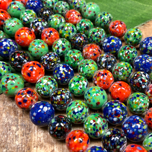 Czech Glass Round Beads