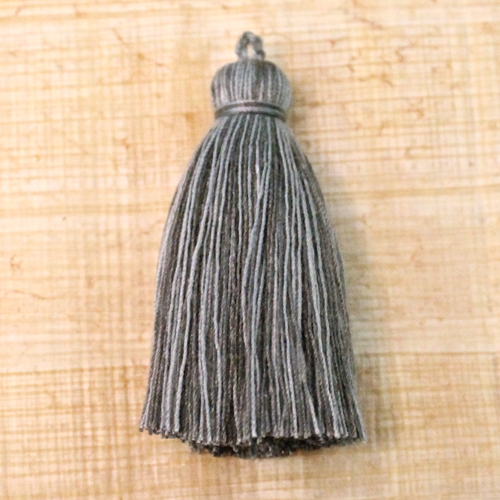 Cotton tassel - gray