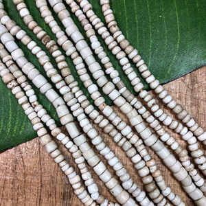 White African Seed Beads