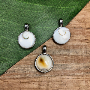 Shiva's Eye Pendants - 1 Piece