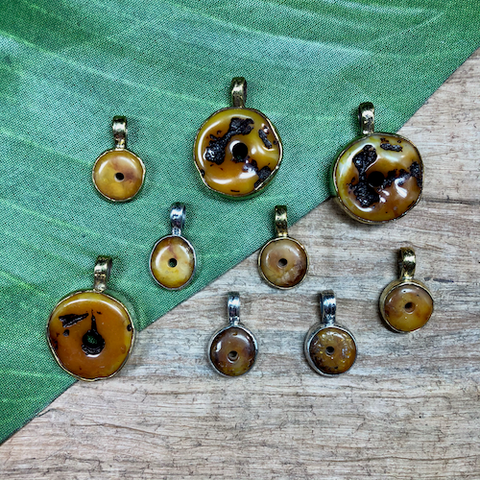 Amber Pendants - 1 Piece
