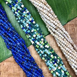 Indonesian Glass - Long Strands