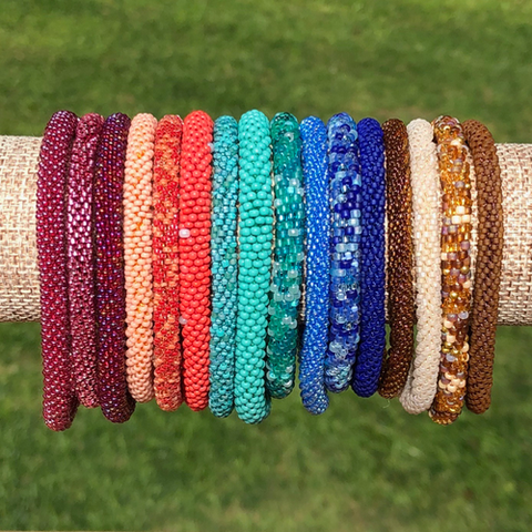 Beaded Bangle Sets