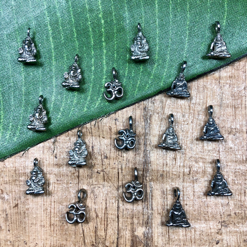 Tiny Deity Pendants