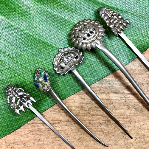 Ornate Hair Sticks