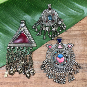 Vintage Pakistani Pendants - 1 Piece