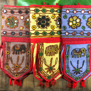 Rajasthan Indian Fabric Banners