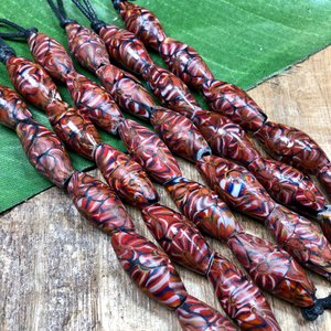 Indonesian Red Bi-Cones