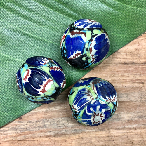 Huge Indonesian Glass Beads