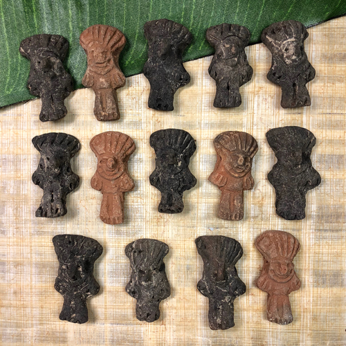 South American Figurines - 12 Pieces