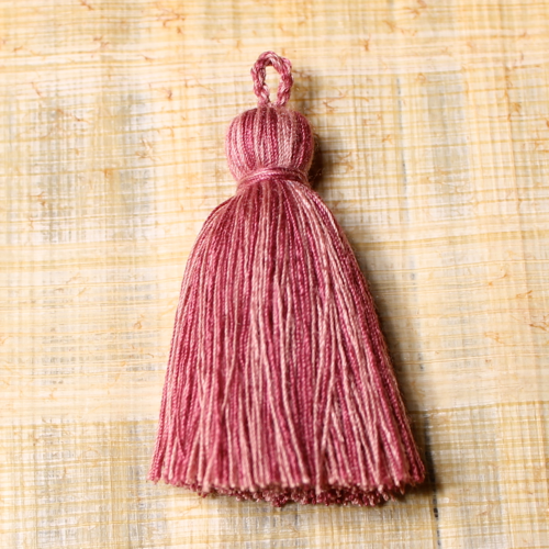 Cotton tassel - rose