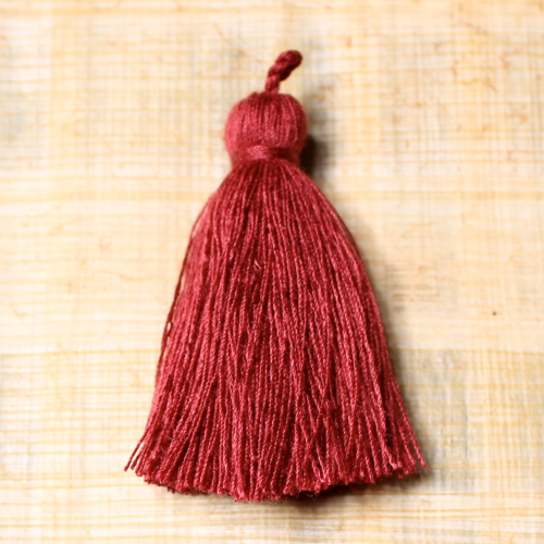 Cotton tassel - sienna