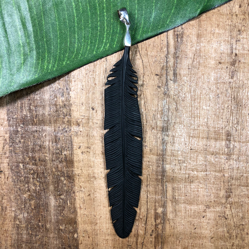 Feather - sterling bail B