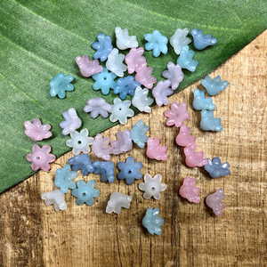 Flower Bead Caps - 45 Pieces