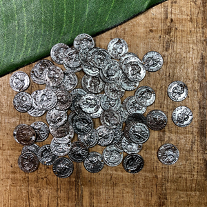 Tiny Coins - 100 Pieces