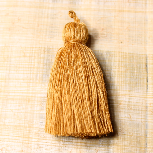 Cotton tassel - wheat