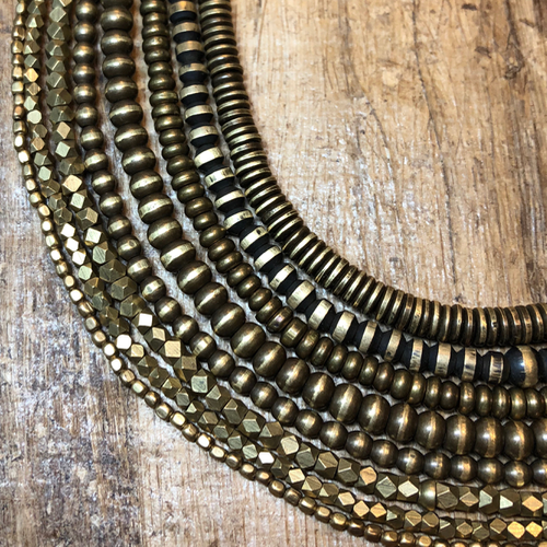 Indian Brass Beads - Special Order