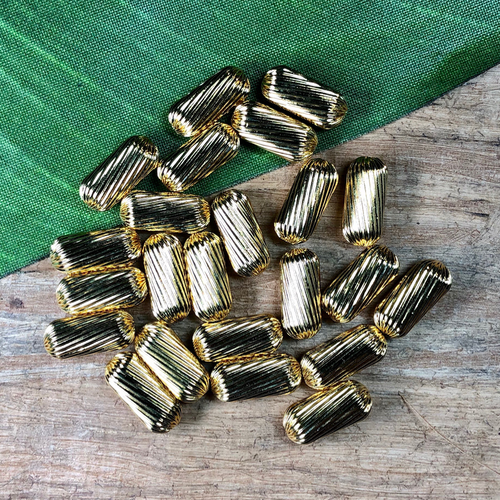 Brass Tubes - 50 Pieces