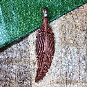 wood feather