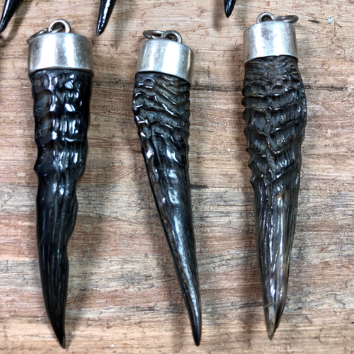 Horn Spike Pendants