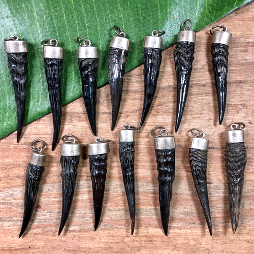 Horn Spike Pendants - 1 Piece