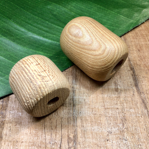 Huge Wood Beads - 1 Piece