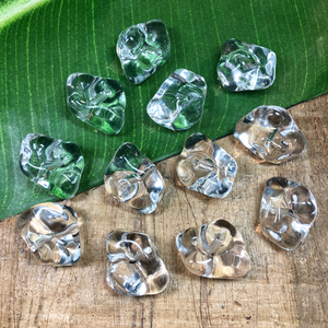 Ice Cube Resin Beads - 9 Pieces