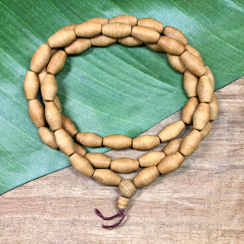 Wood Mala - 51 Pieces