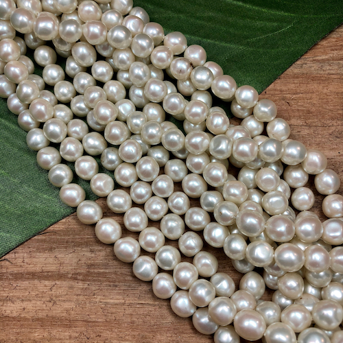 Hank of Vintage Pearls - 48 Pieces