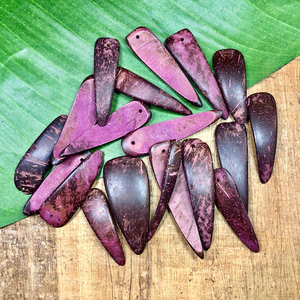 Purple Coconut Spikes - 19 Pieces