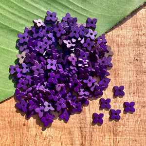Purple Square Flowers - 200 Pieces
