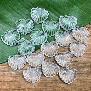 Scallop Pendants - 9 Pieces