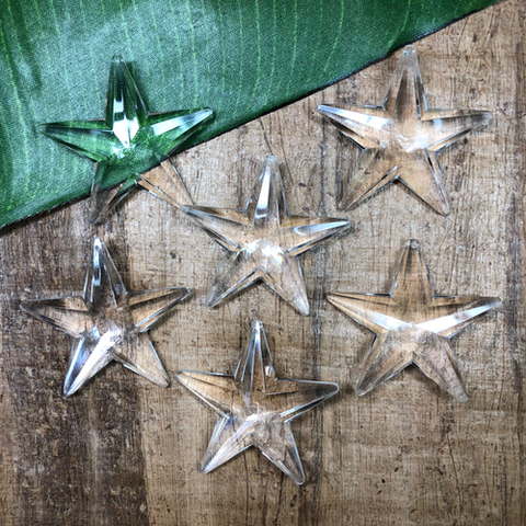 Crystal Stars - 6 Pieces