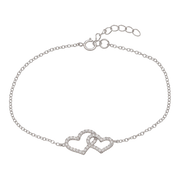 Clear Pure Love Bracelet