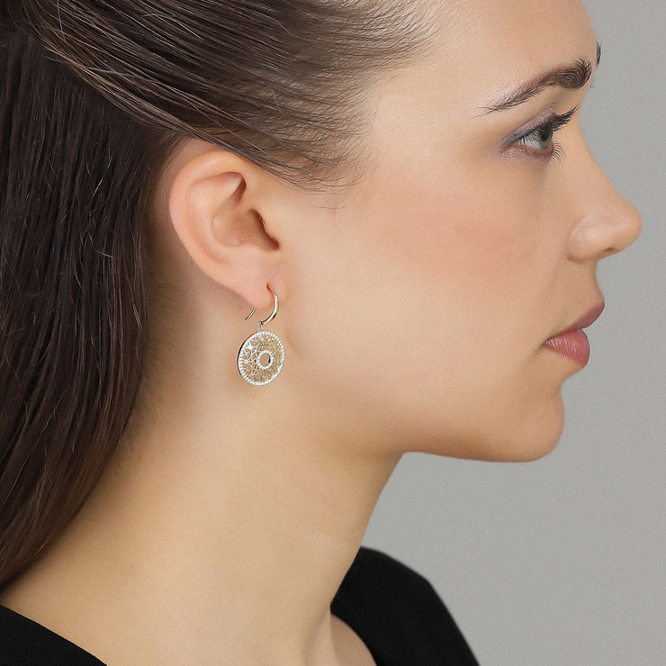 Clear Glory Earring