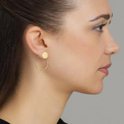 Plain Fire Earring
