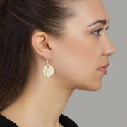 White Glory Earring