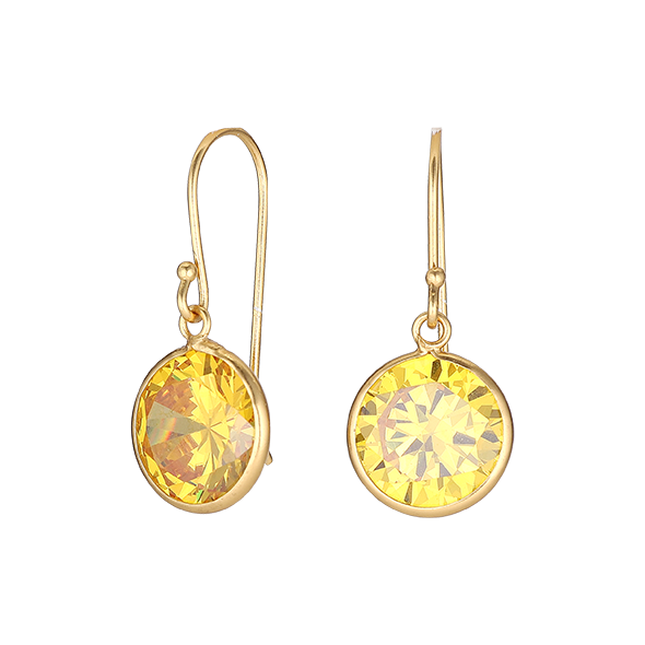 Yellow Harmony Earring