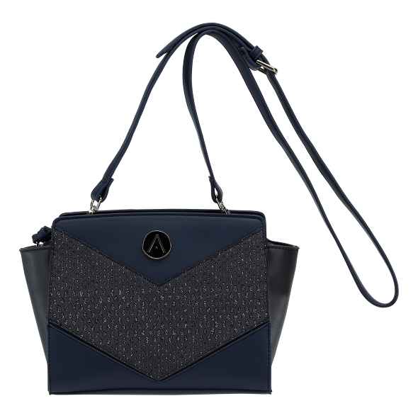 Blue Crossbody Handbag