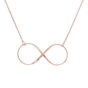 Plain Infinity Necklace