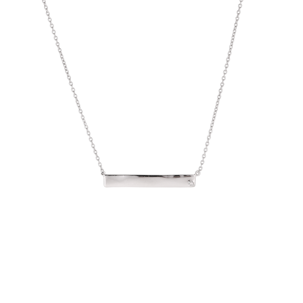 Clear Forever Diamonds Necklace