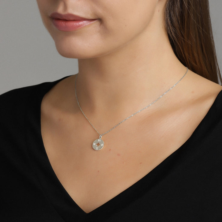 Plain Fire Necklace