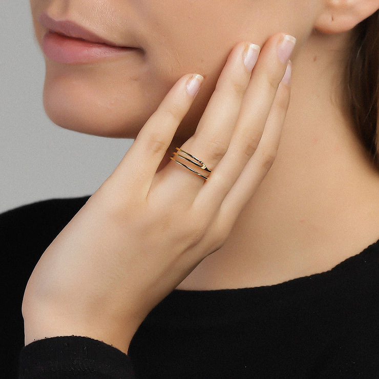 Plain Clarity Ring