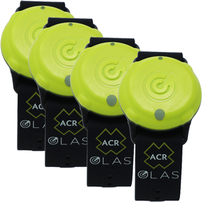 OLAS Wearable MOB Crew Tag - 4-Pack