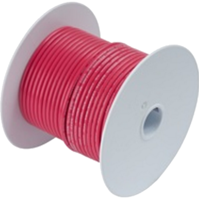 Wire, 100' #1/0 Tinned Copper, Red