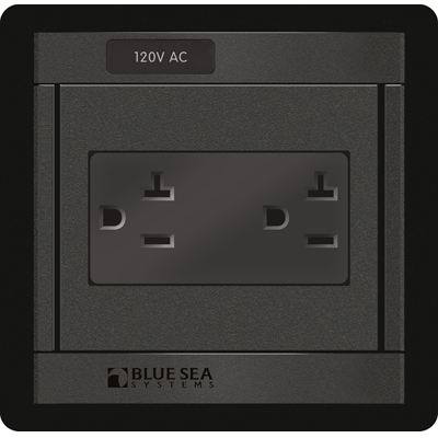 Panel 360, 120VAC Dual Outlet