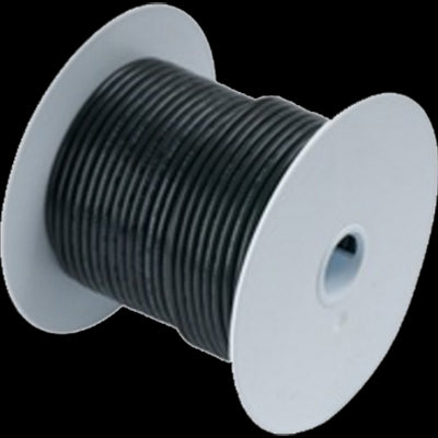 Wire, 25' #4-0 Tinned Copper, Black