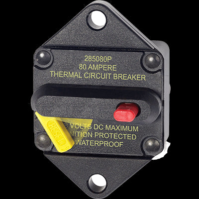 Breaker, 285, Panel Mnt, DC 80A